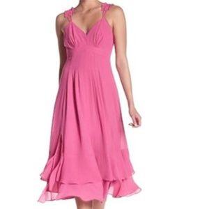 NWT Nanette Lepore Pink Sleeveless dress